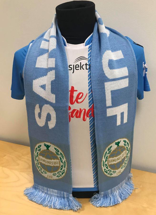 Supporterskjerf Sandnes Ulf