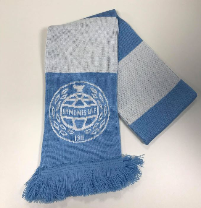 Supporterskjerf m/striper