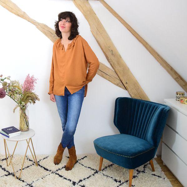 SAL Cousette - Patron blouse - Yvette