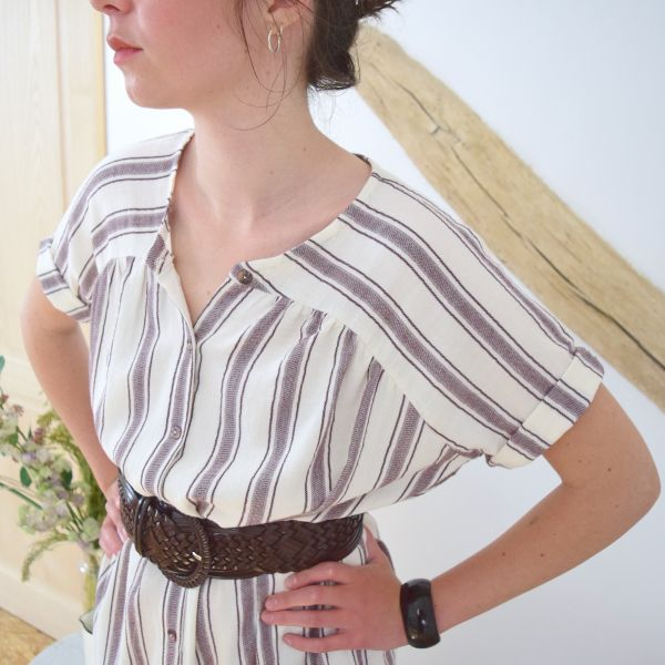 SAL Cousette - Patron blouse - Catherinette