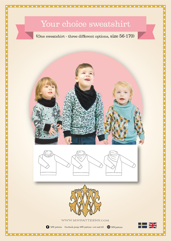 SAL -MWCrafts - Your choice sweatshirt kids