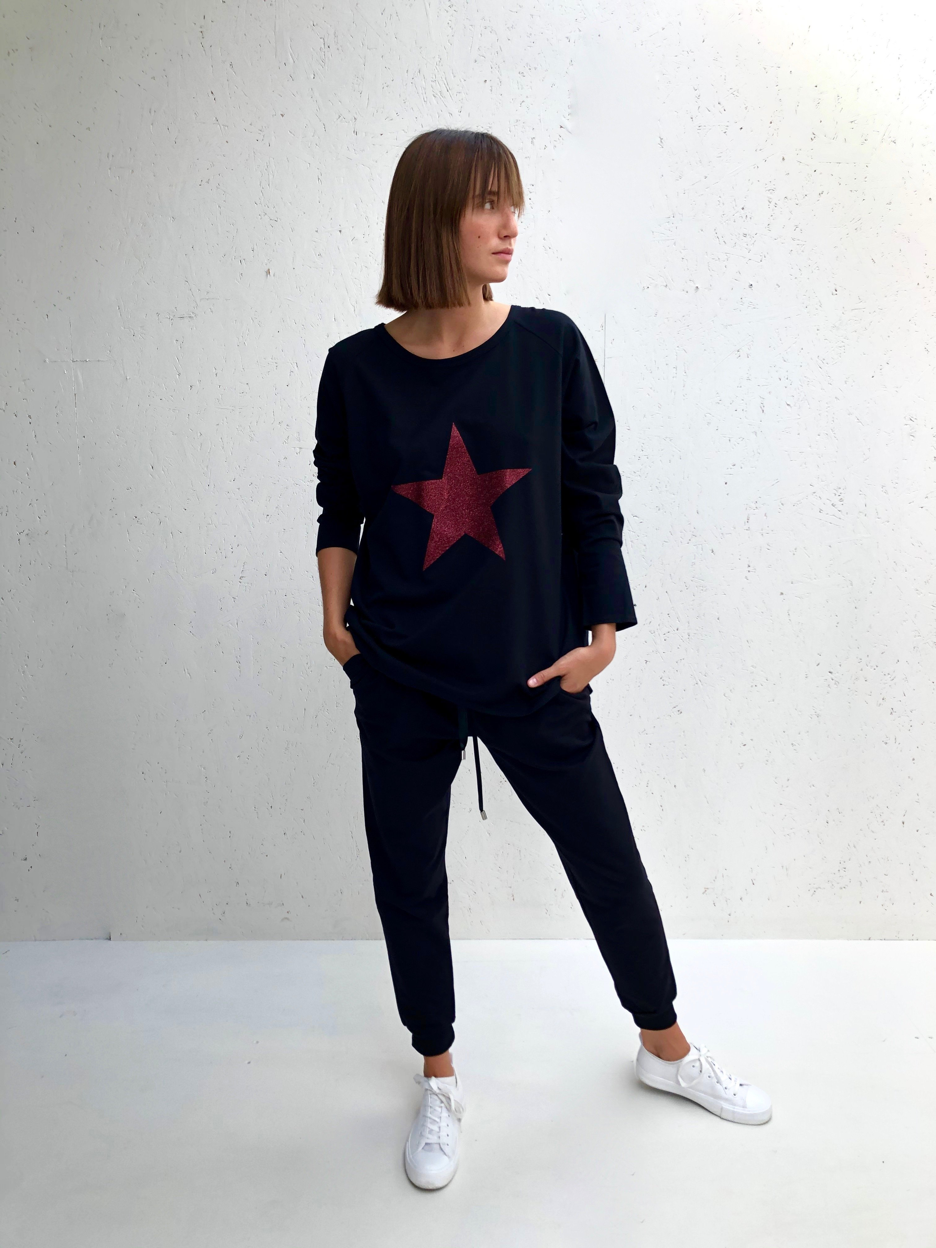 Chalk Star Casual Top M/L - Various Colours