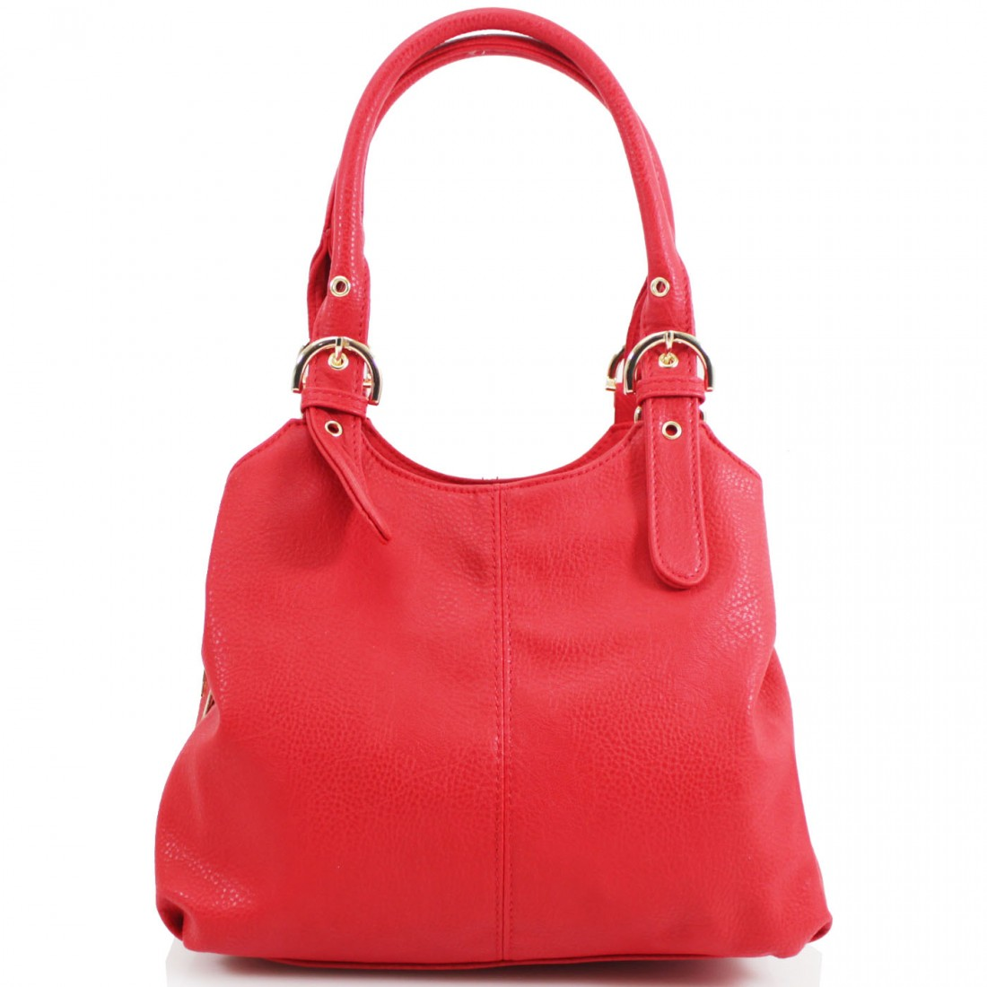 3 Section Buckle Shoulder Bag - Various Colours