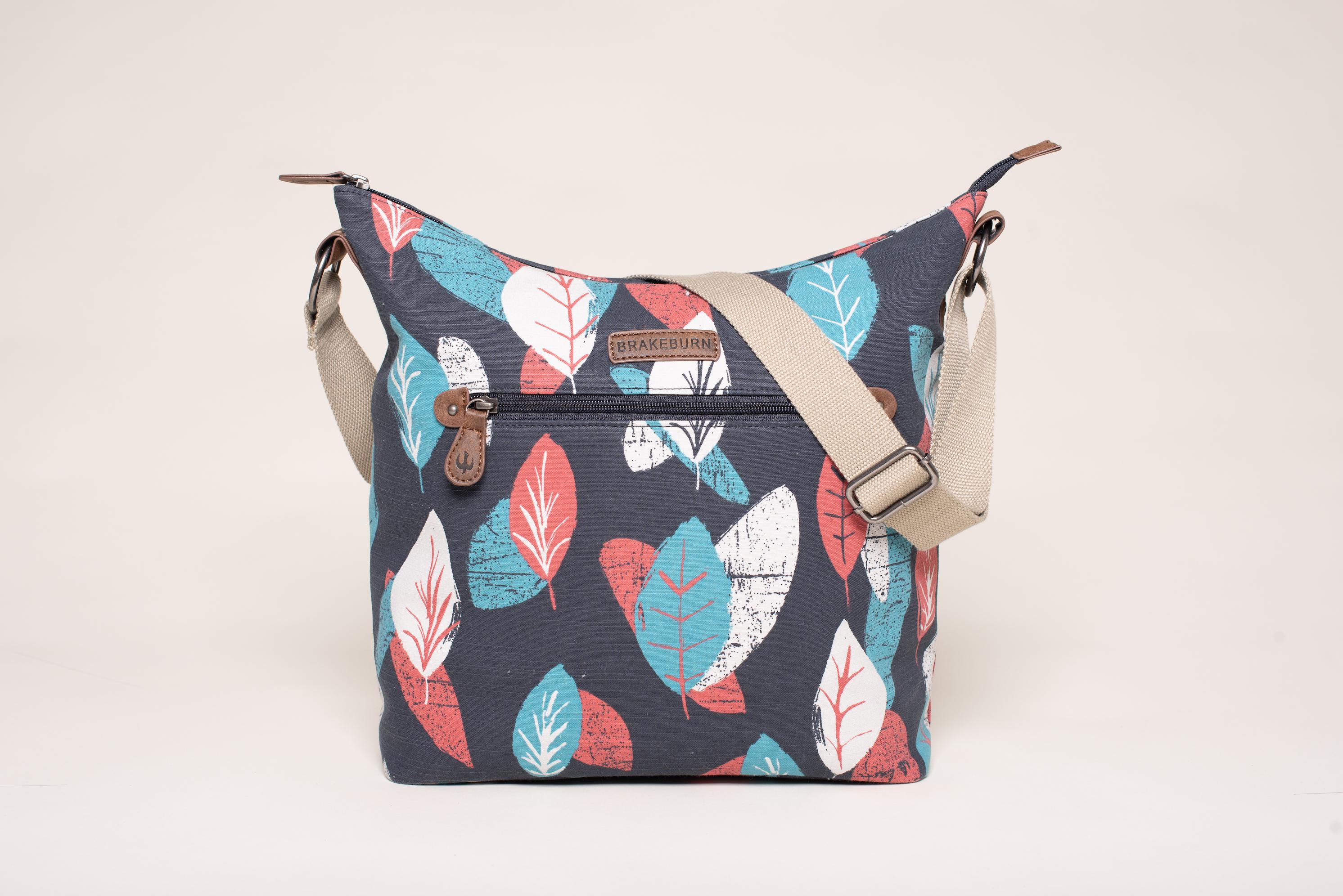 Brakeburn Textured Leaf Hobo Bag