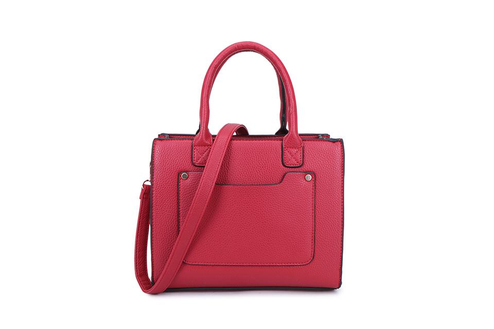 Square 2 Section Handbag - Various Colours