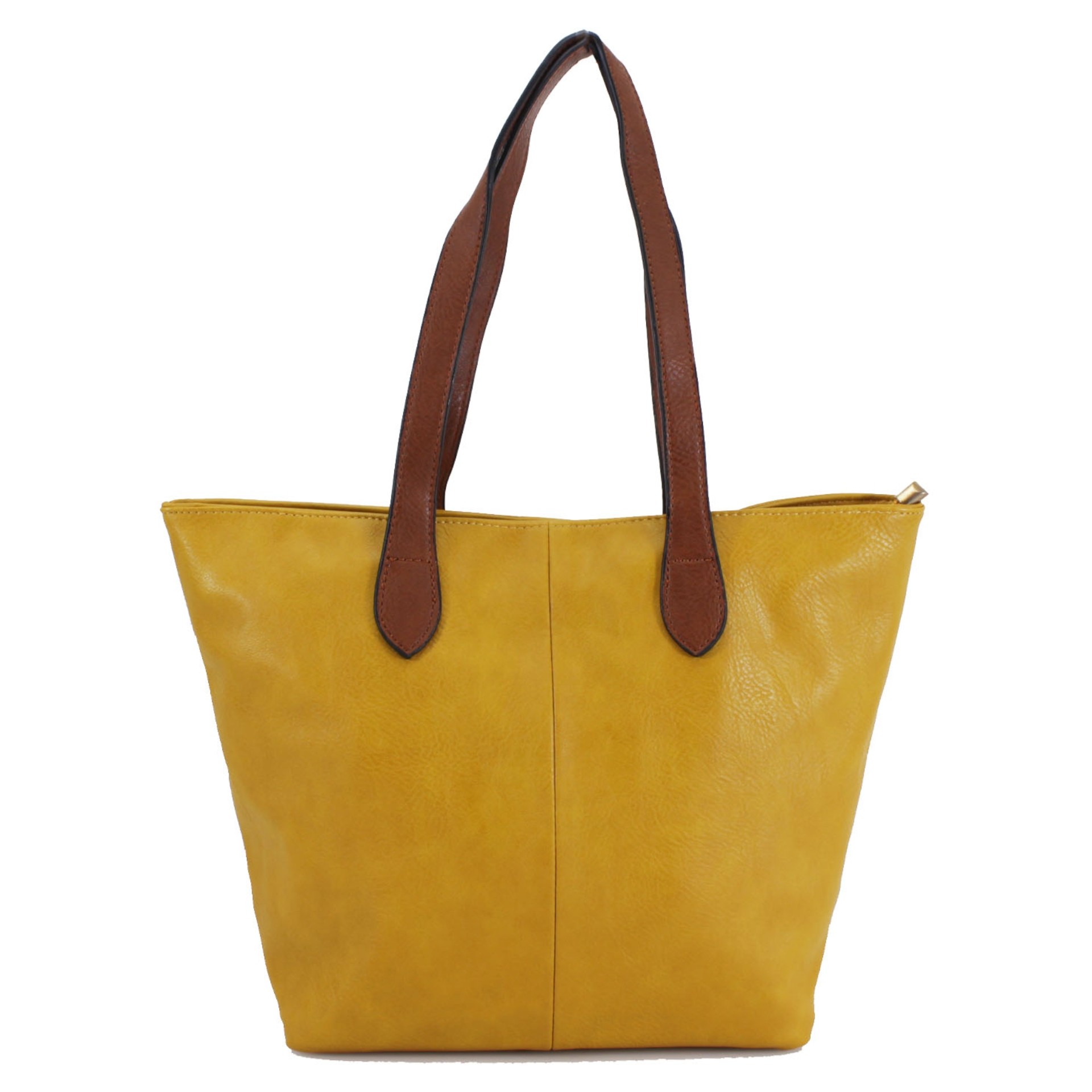 Bucket Bag with Contrast Handles - Various Colours
