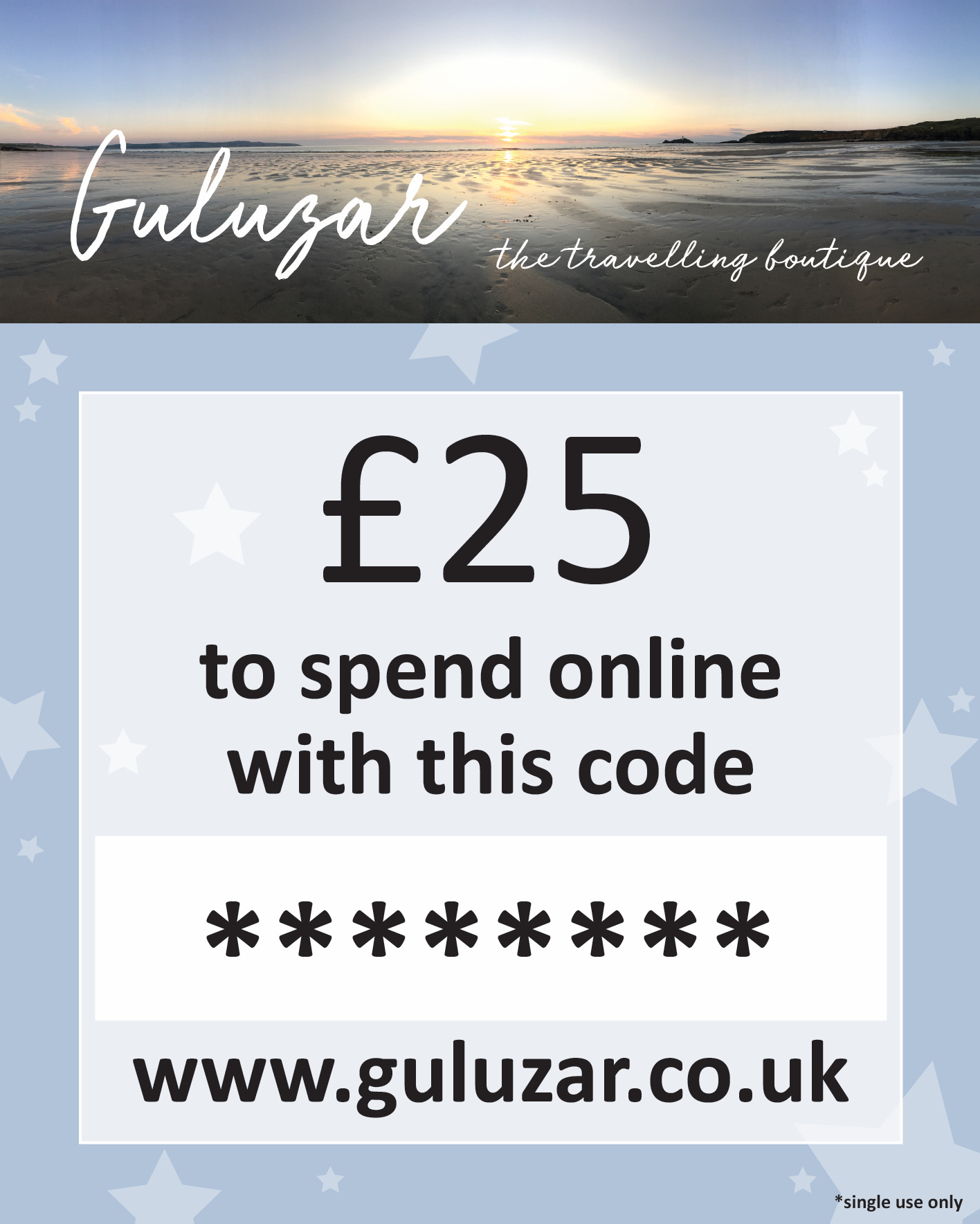 £25 Online Gift Card