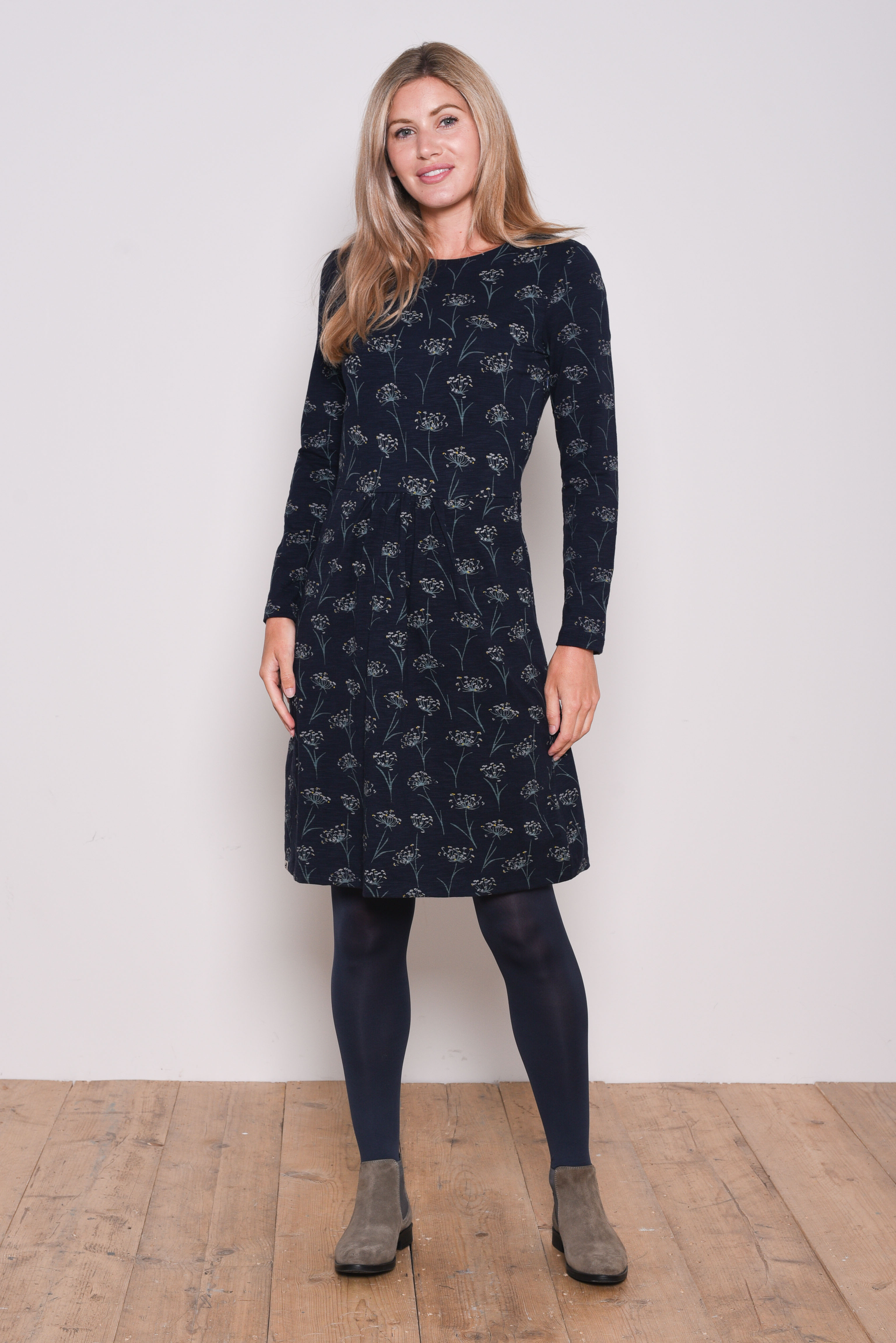 Brakeburn Cow Parsley Dress