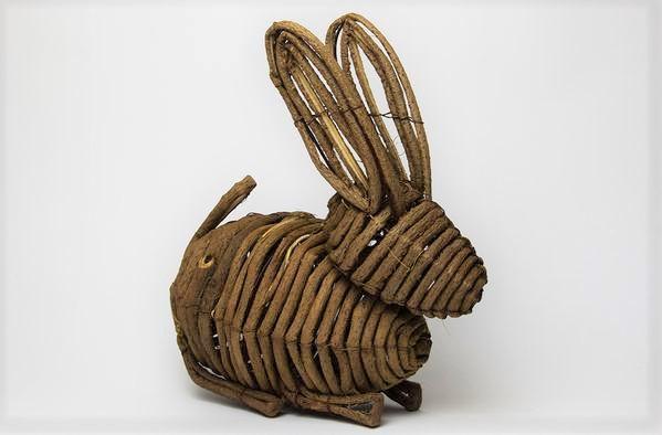 Handmade Vine Bunny (26 cm)