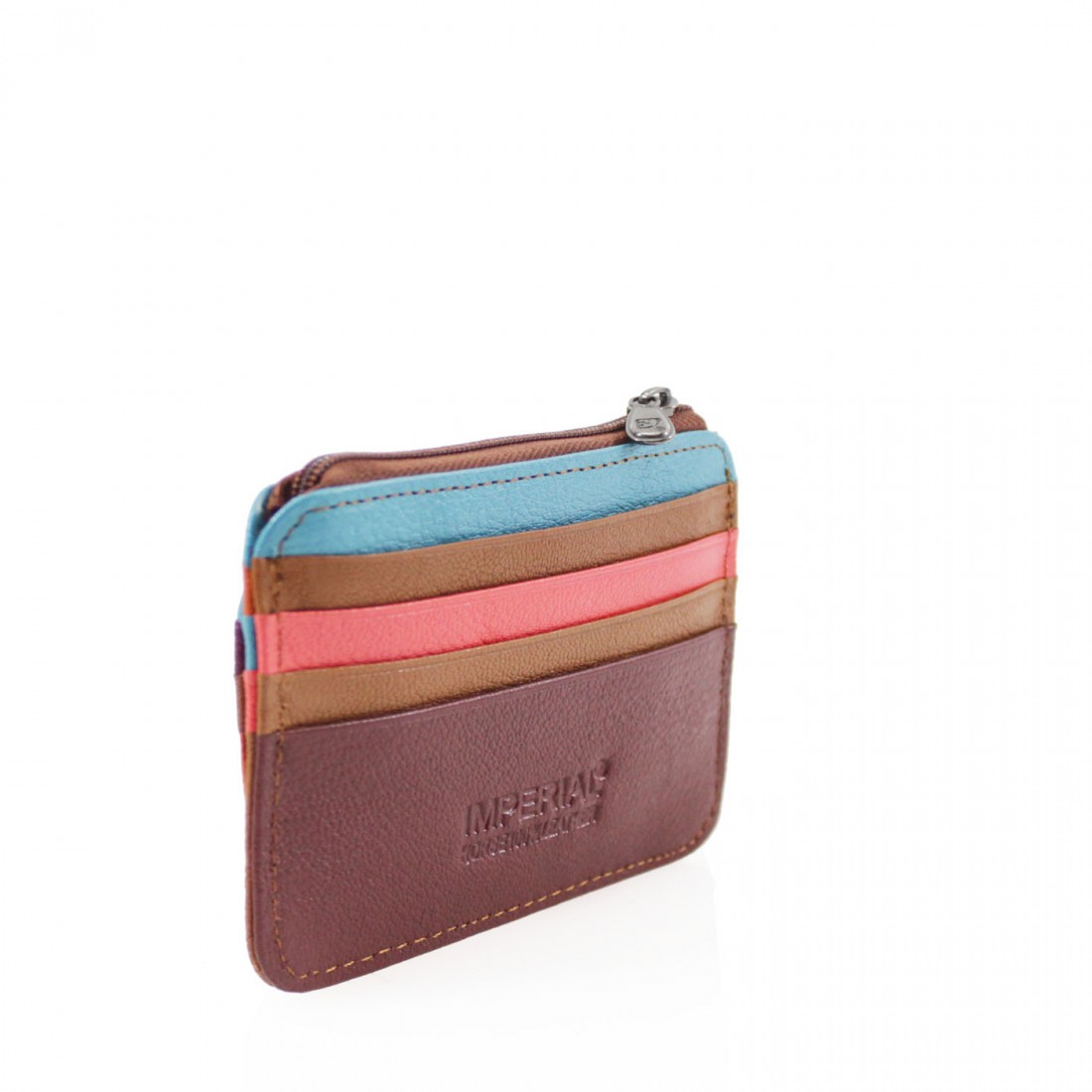 Leather Card Wallet/Purse - Various Mixed Colour