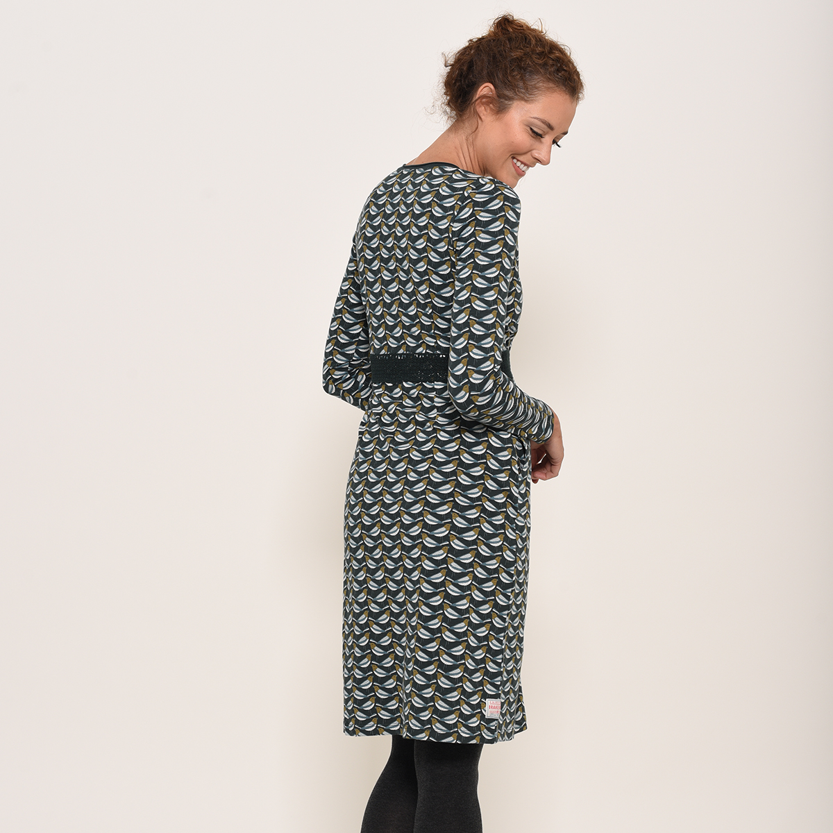Brakeburn Finch Wrap Dress