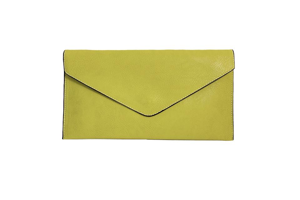 Envelope Clutch Bag - Lime