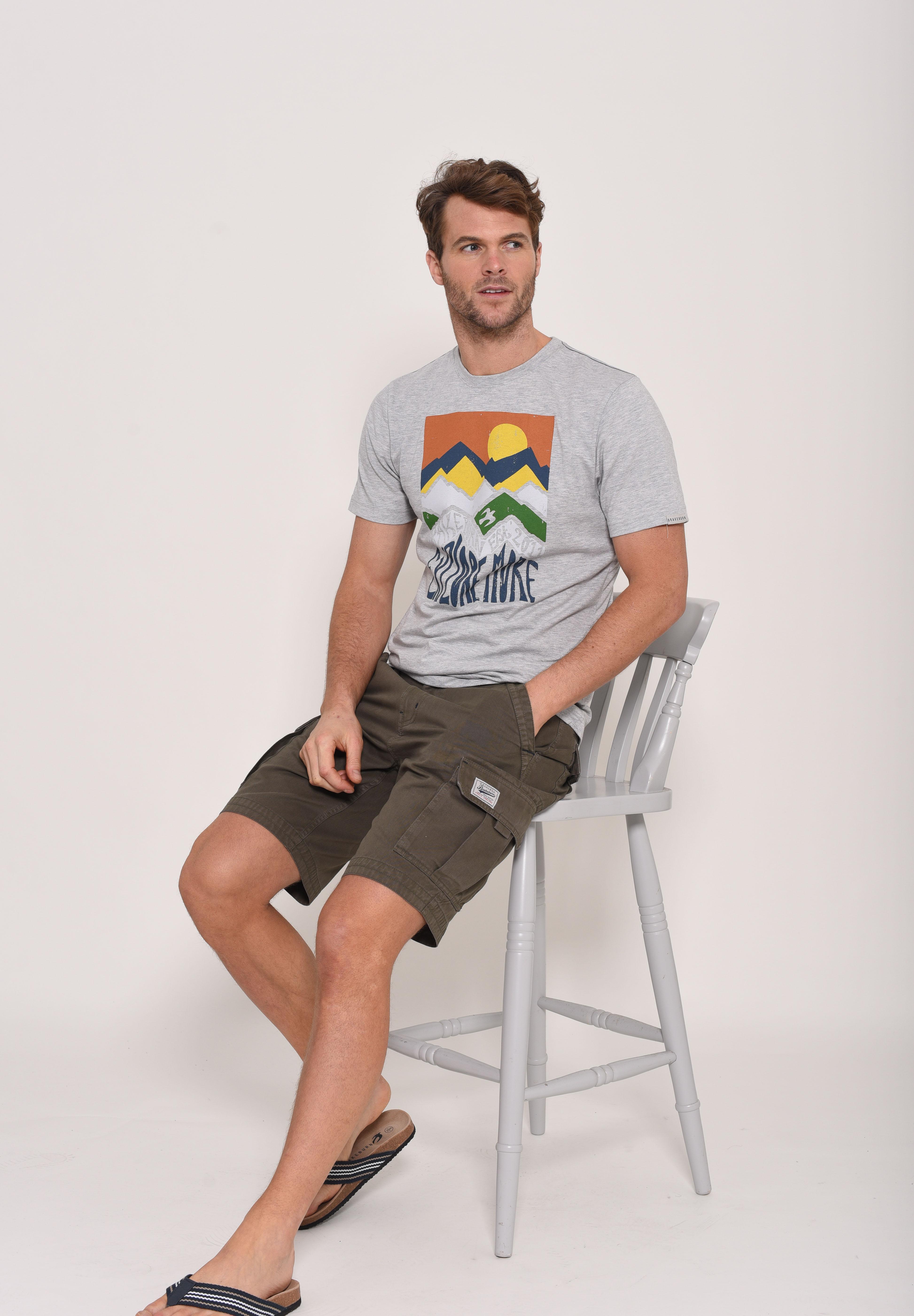 Brakeburn Mountain T-Shirt - Grey