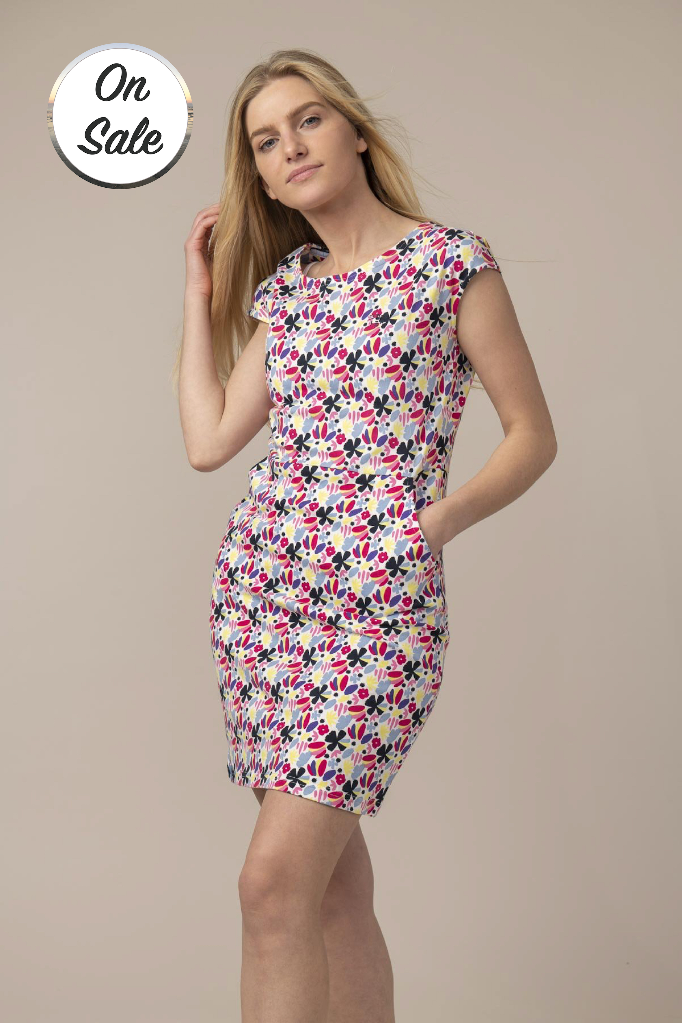 Lighthouse Liliana Dress - Abstract Floral