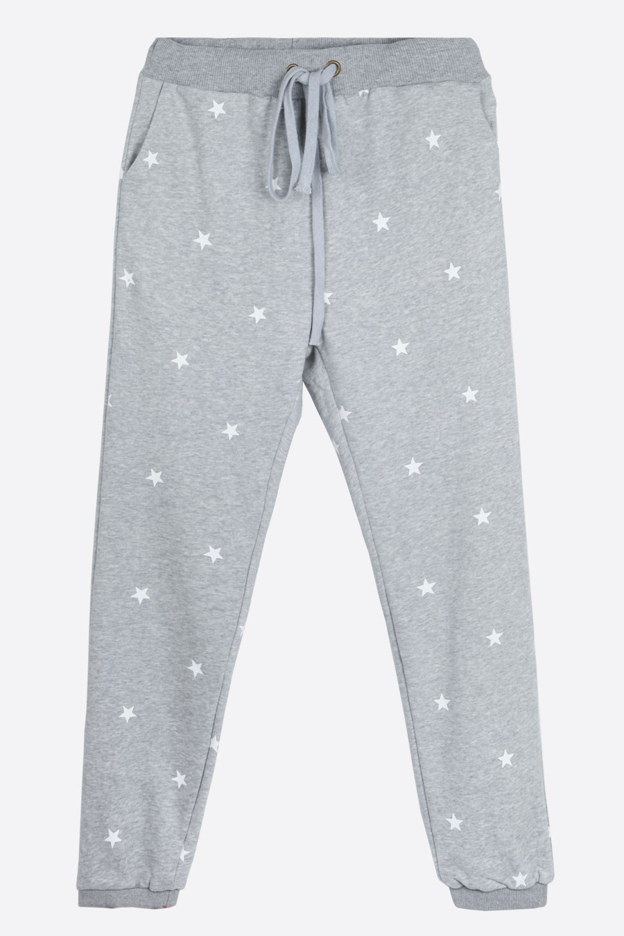 All Over Star Jogger Trousers - Light Grey
