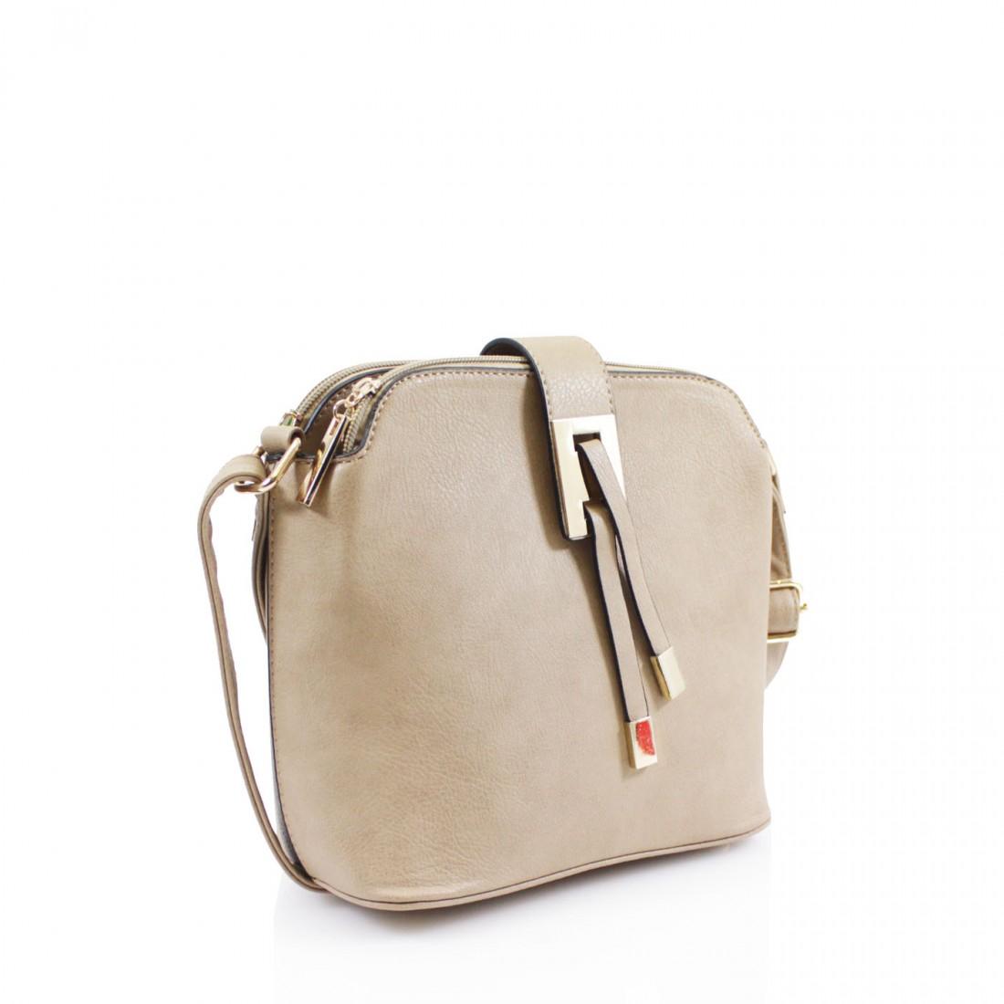 Triple Pocket Cross Body Handbag - Various Colours