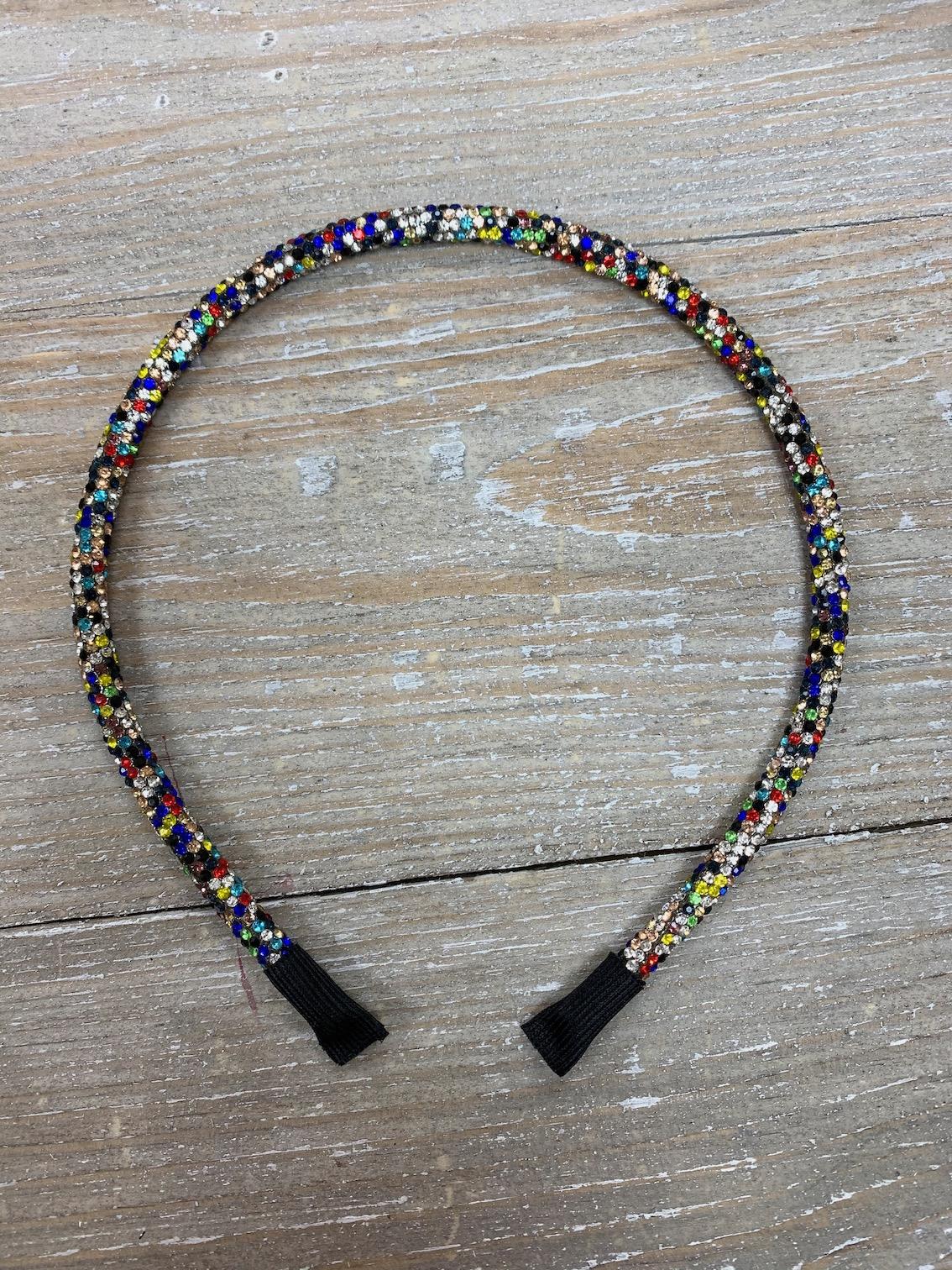 Crystal Hair Band - Various Colours