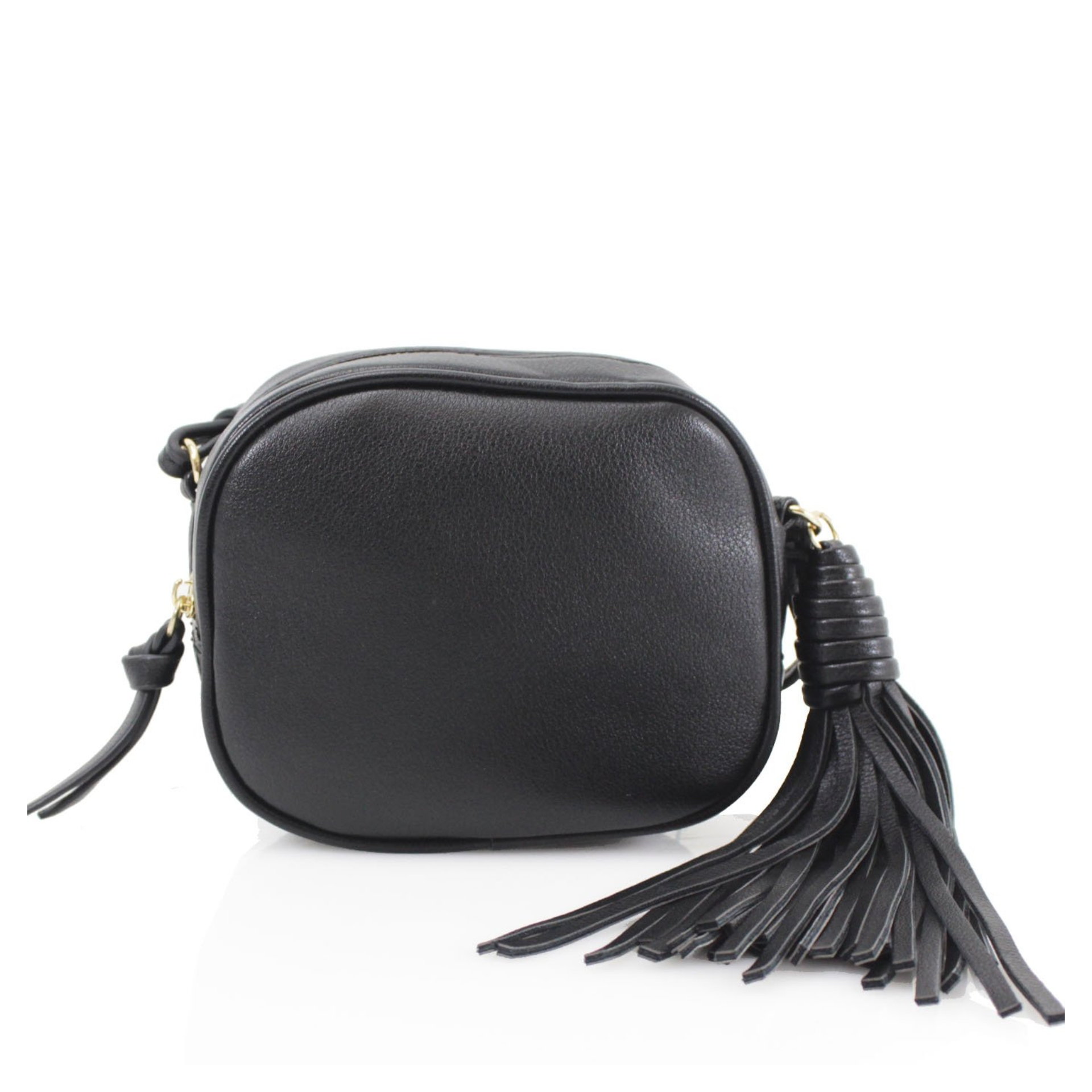 Chunky Tassel Cross Body Bag - Various Colours