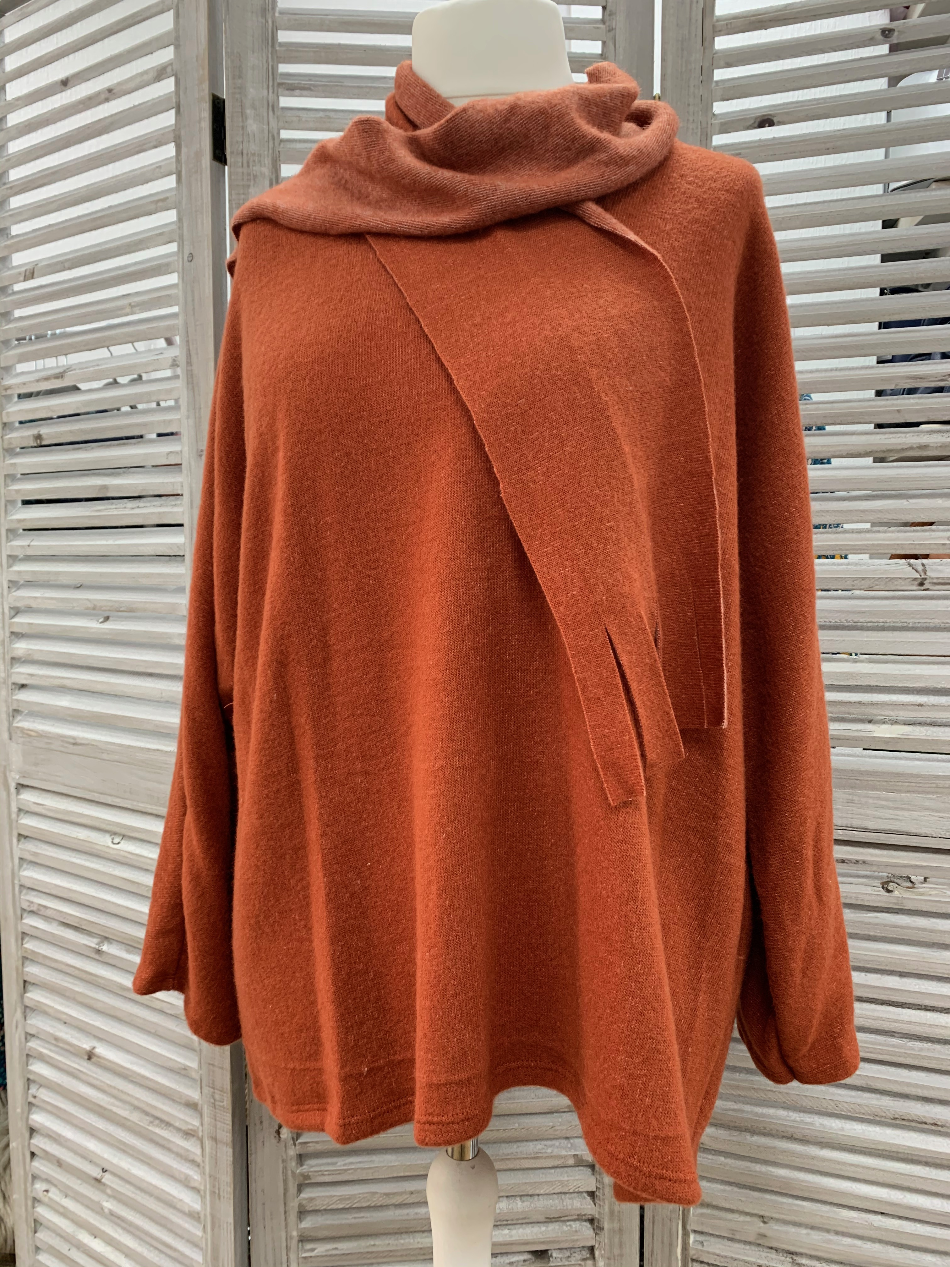 Soft Knit Jumper & Scarf - Various Colours