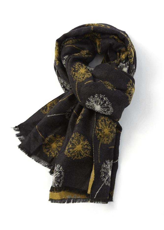 Terry Blanket Scarf Dandelions - Various Colours