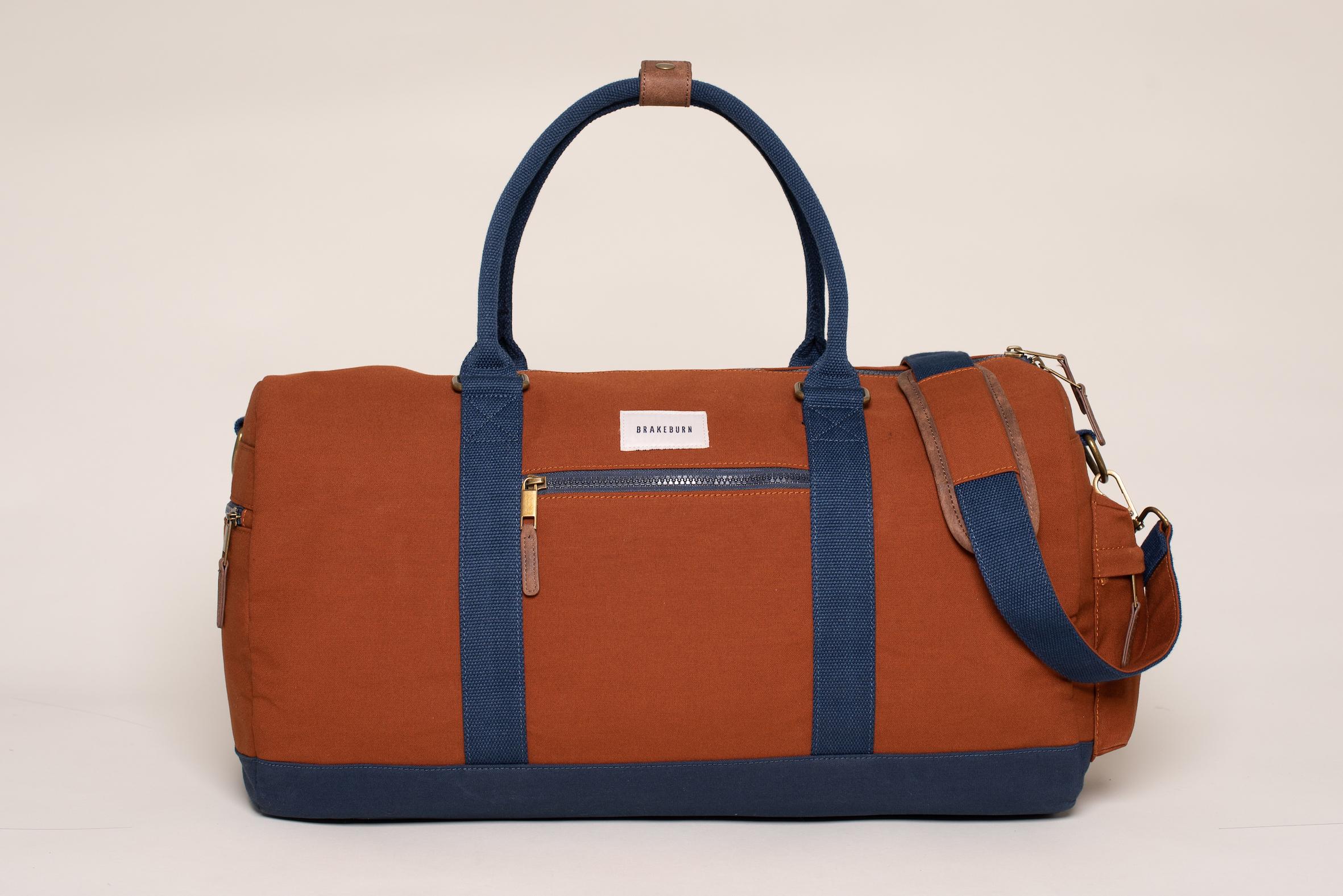 Brakeburn Men's Rust Duffel Bag