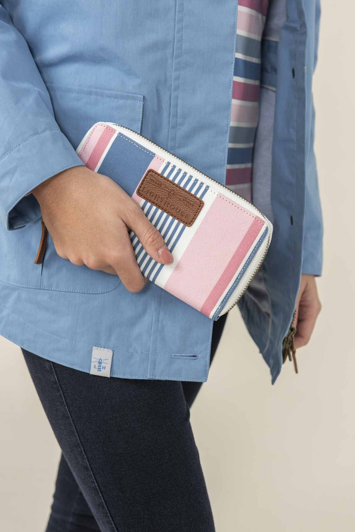Lighthouse Canvas Purse - Multi Stripe
