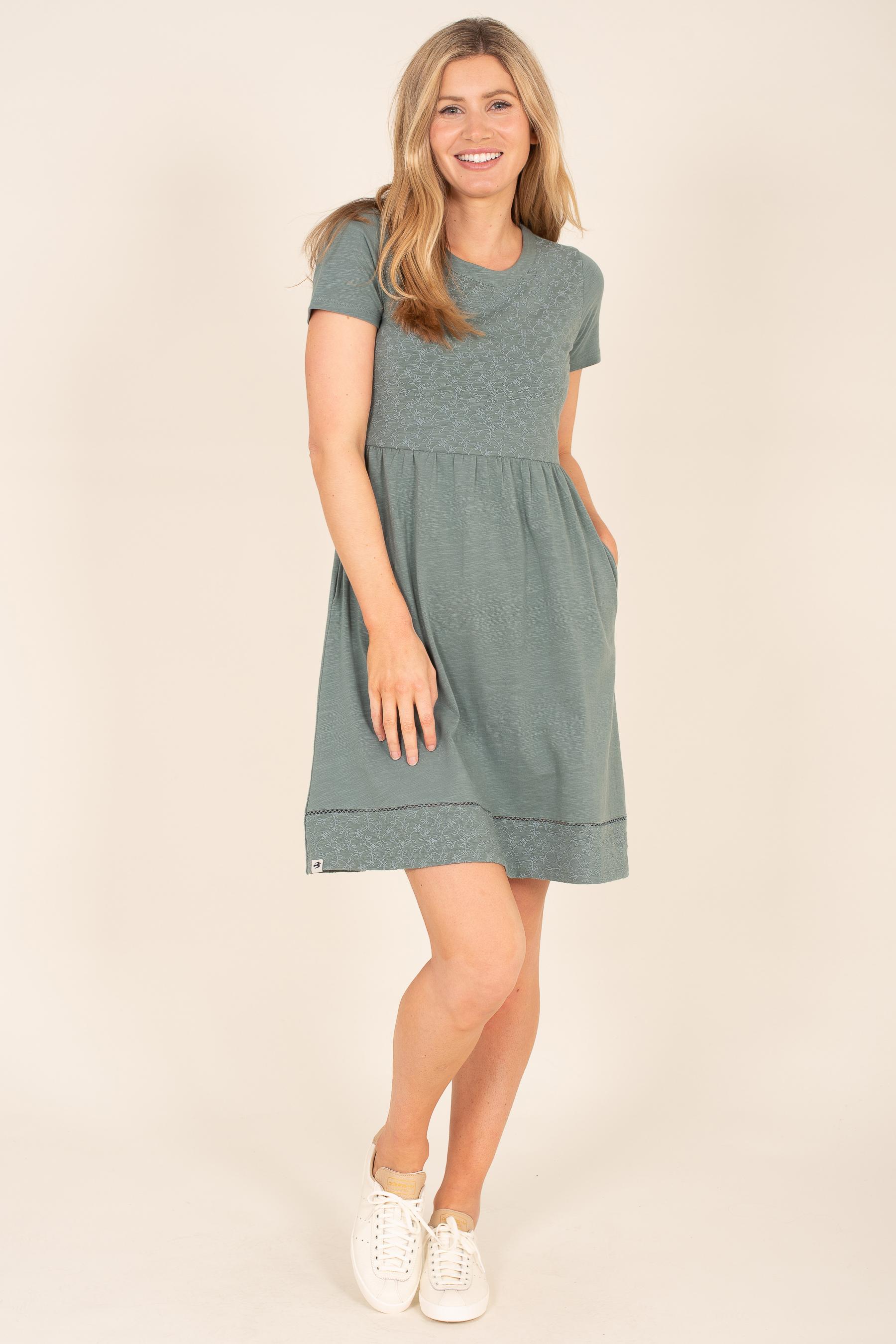 Brakeburn Broderie Dress