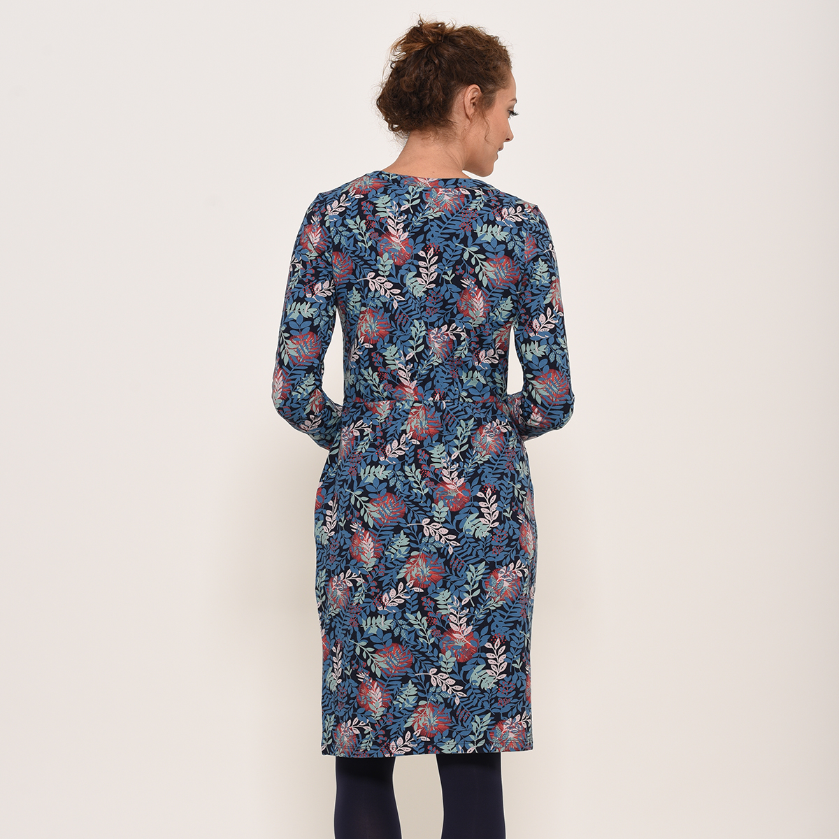 Brakeburn Falling Leaf Dress