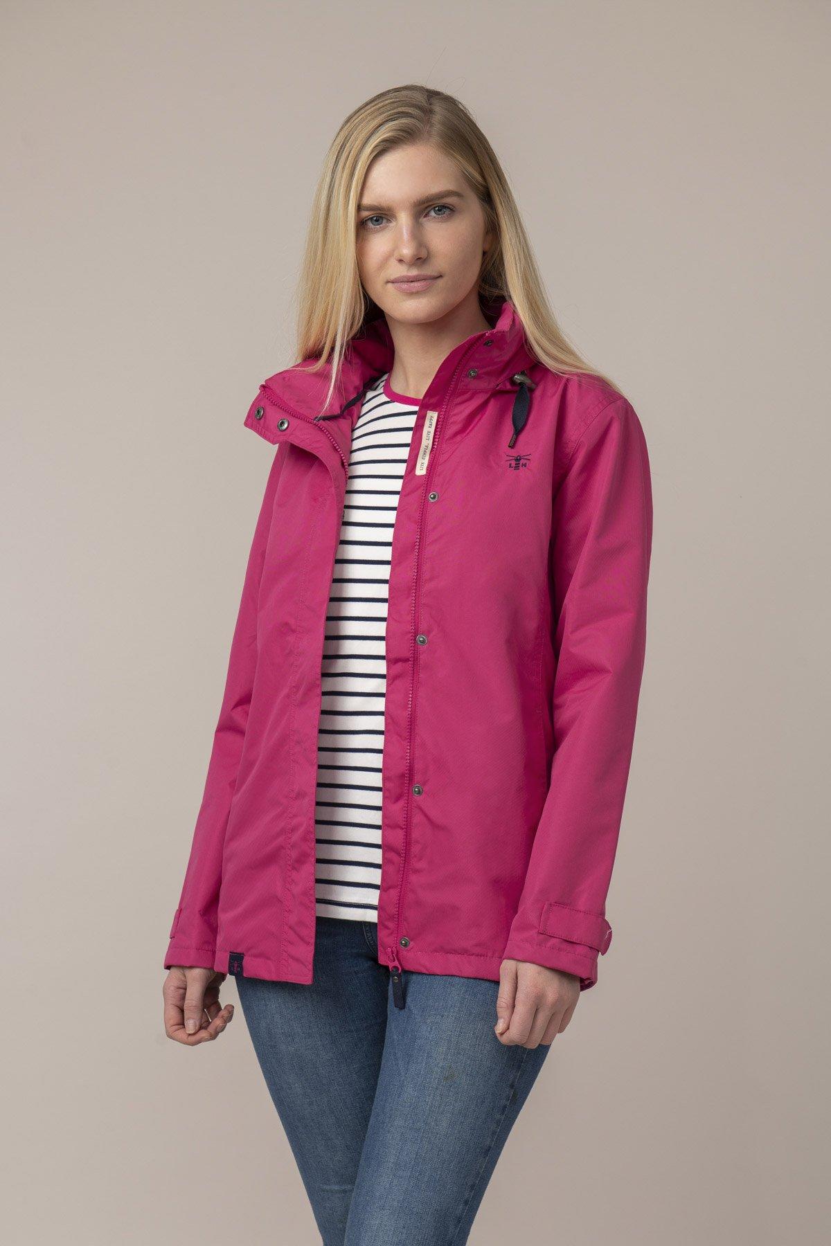 Lighthouse Beachcomber Jacket - Raspberry