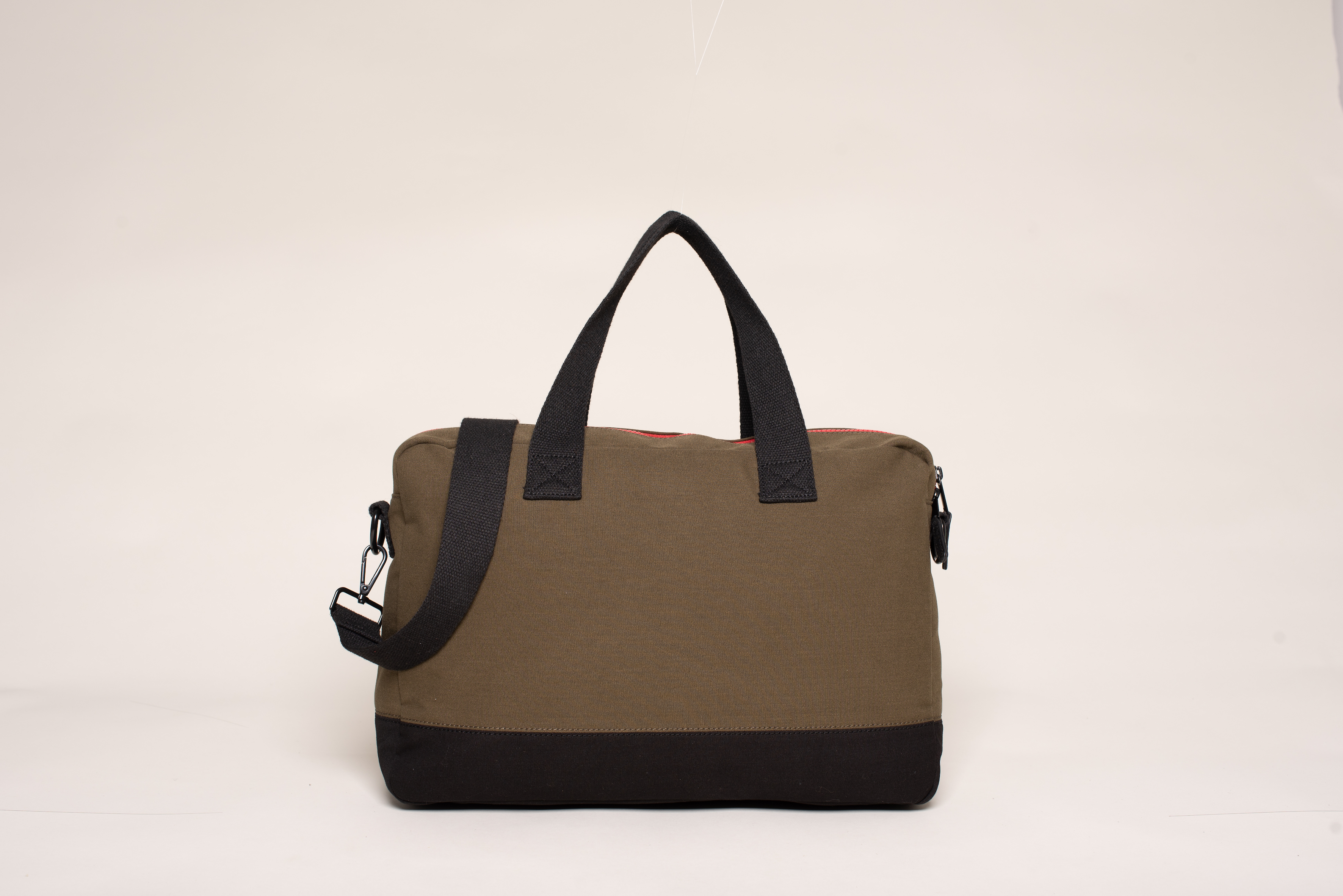 Brakeburn Men's Olive Pocket Messenger Bag