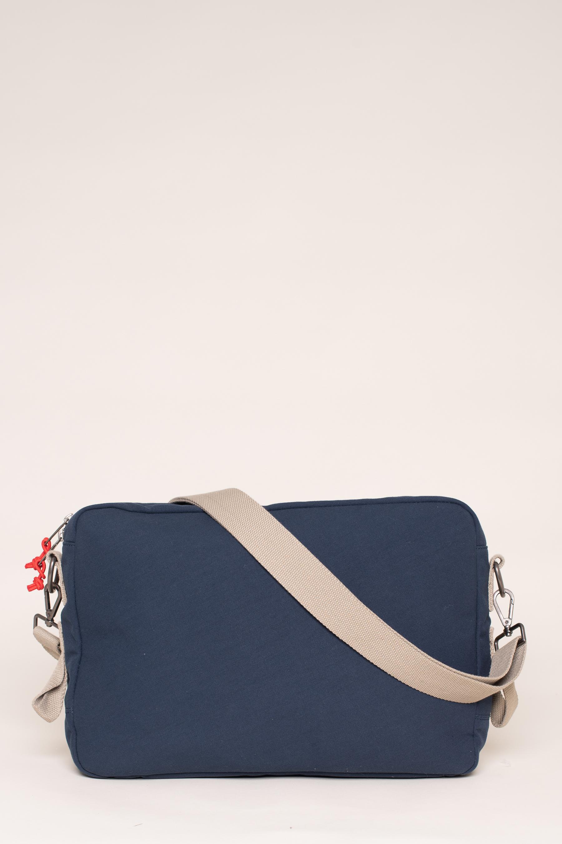 Brakeburn Navy Messenger Bag