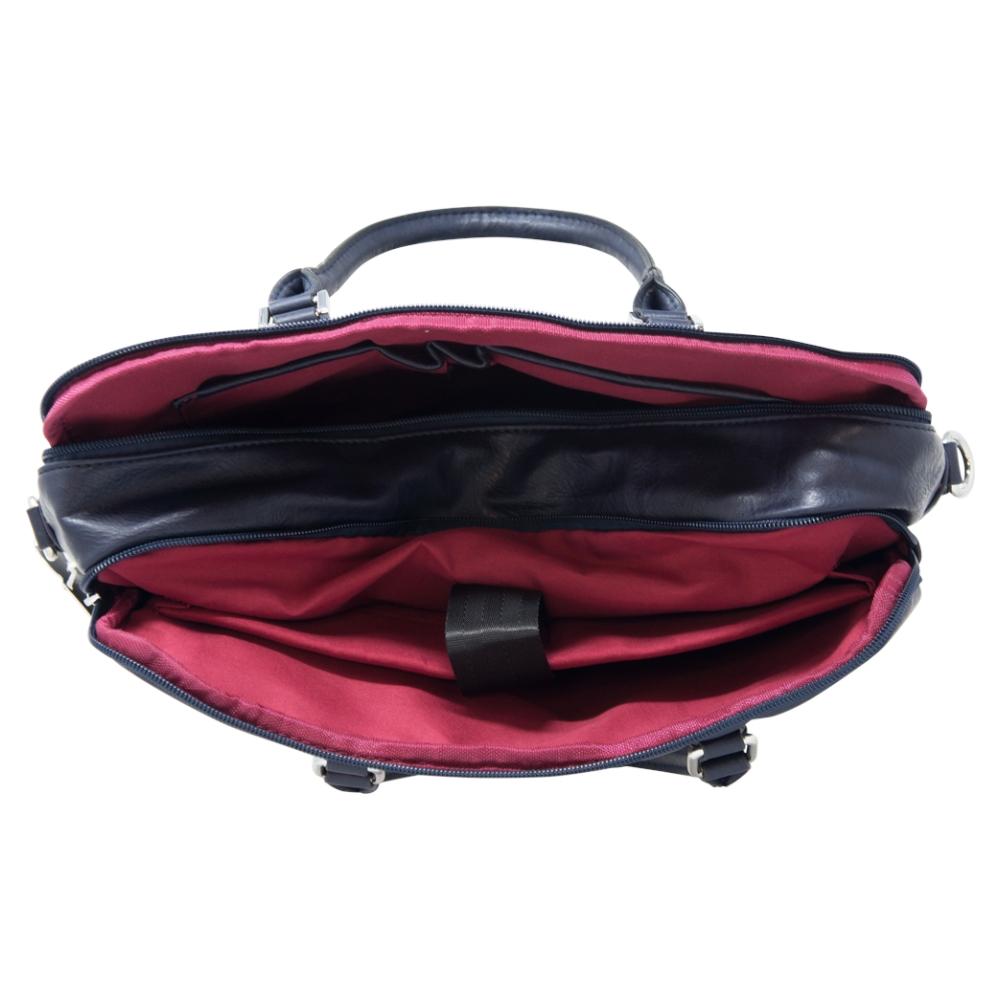 Soft Briefcase Bag - Black