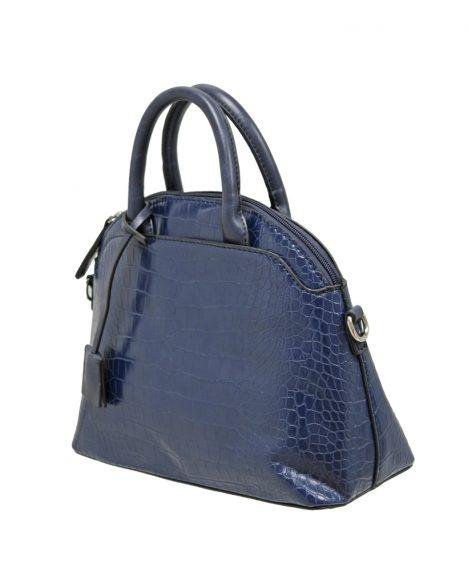 Croc Print Grab Bag - Navy