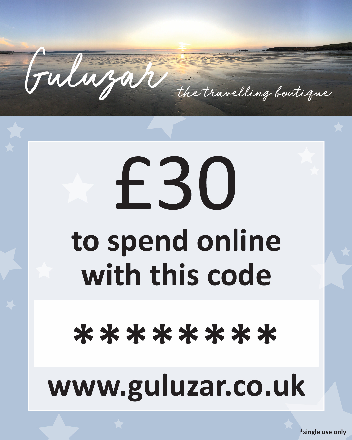 £30 Online Gift Card