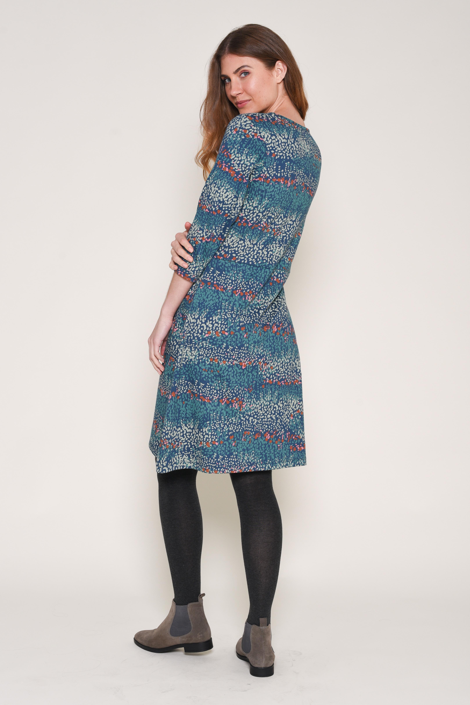 Brakeburn Heather Pleated Dress