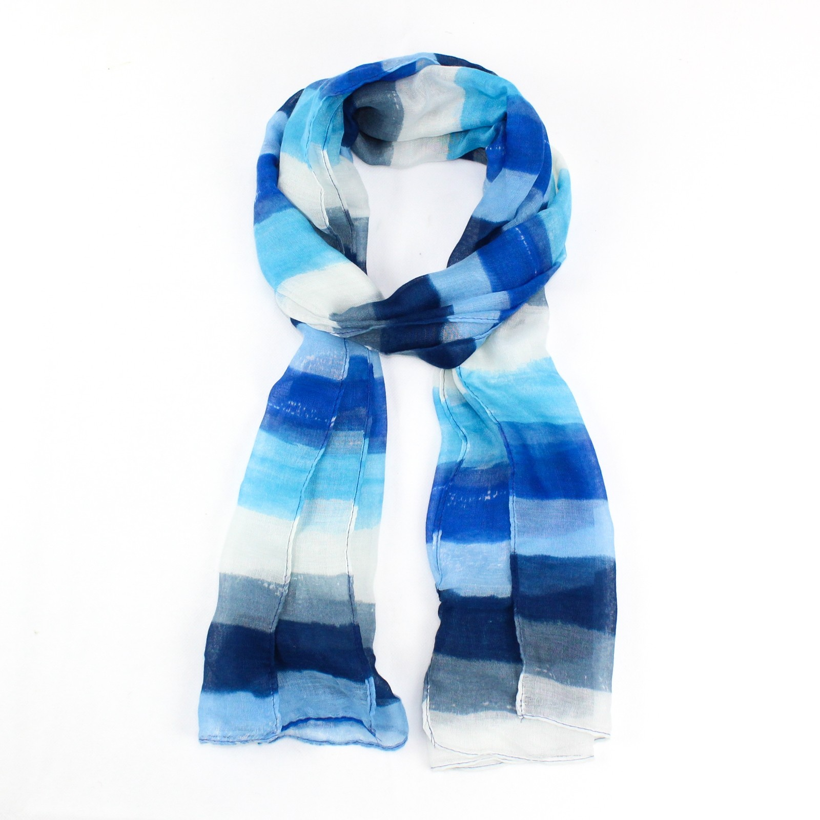 Striped Band Scarf