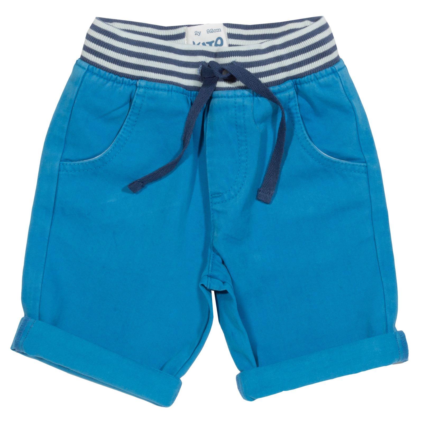 Kite Mini Yacht Shorts, Azure Blue