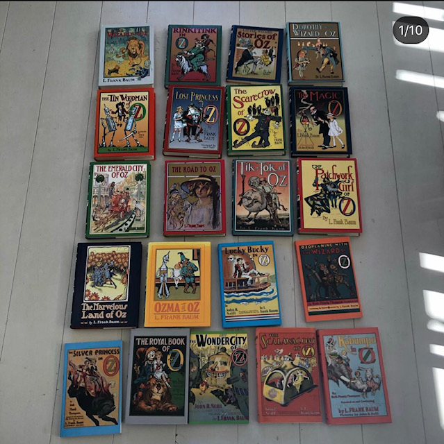Frank L. Baum - Complete Oz-Books series
