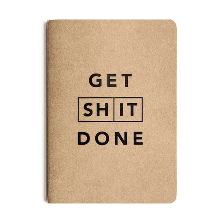 Get S*** Done Notebook A5