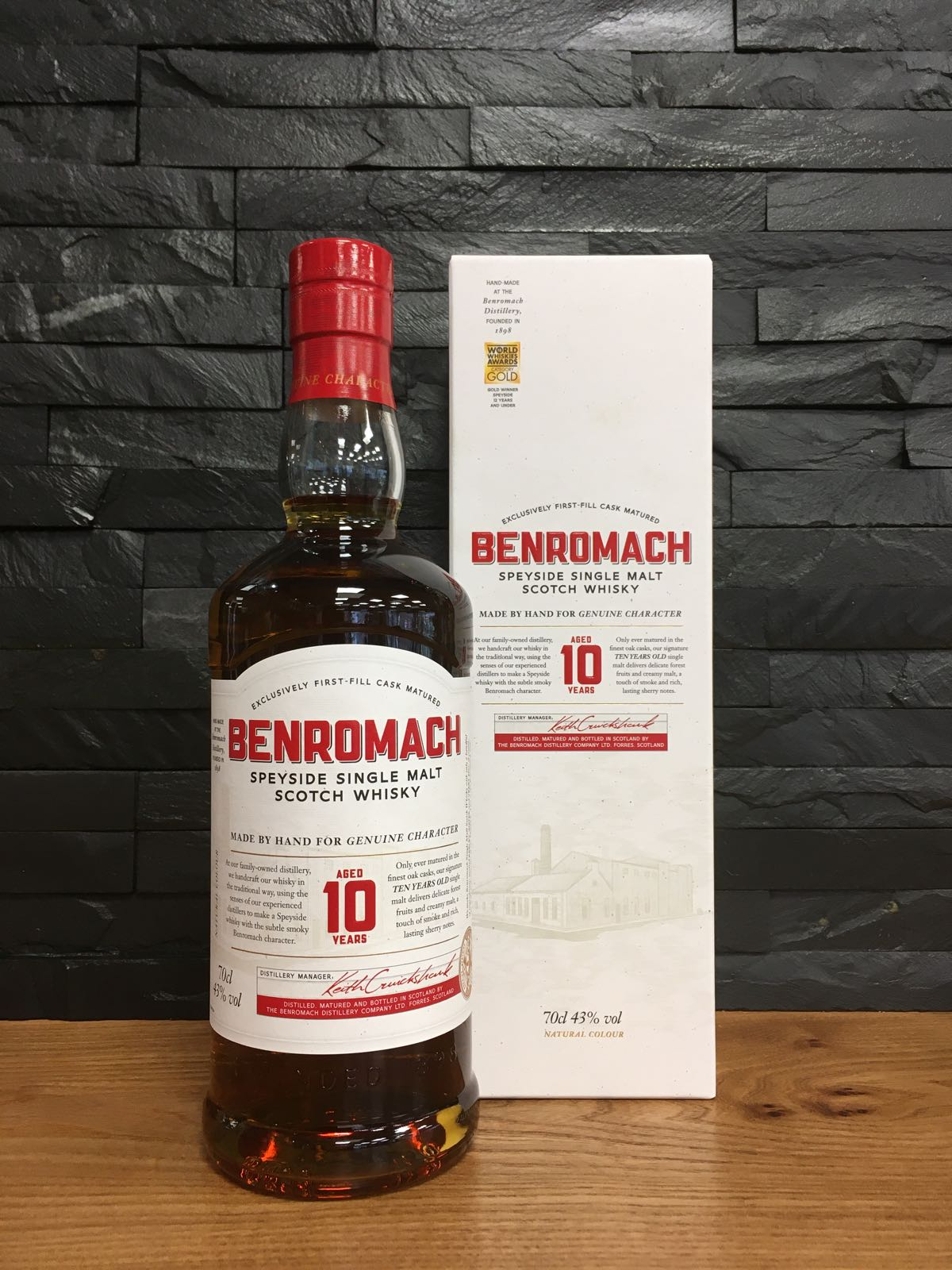 Benromach 10 Year Old 70cl