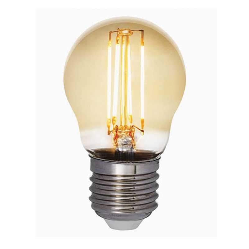 LED-lampa Airam Antique E27, klot
