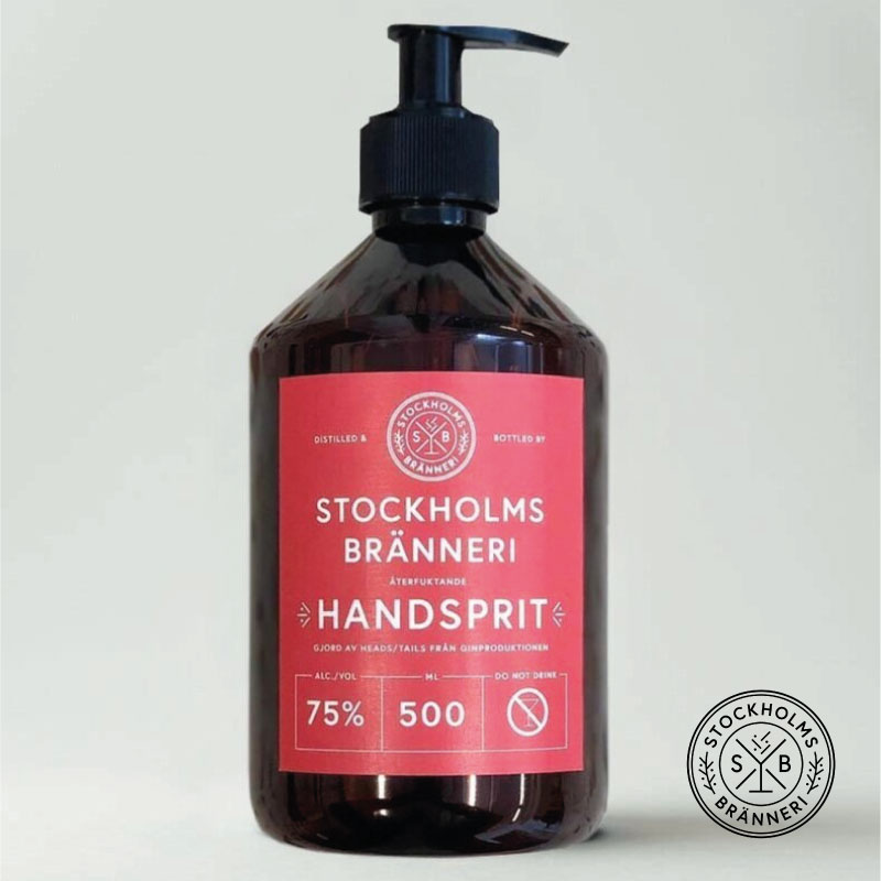 Handsprit 75%, 500ml - Stockholms Bränneri