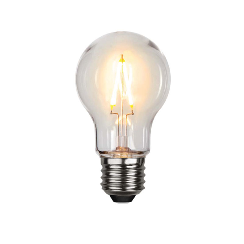 LED-lampa E27, päron
