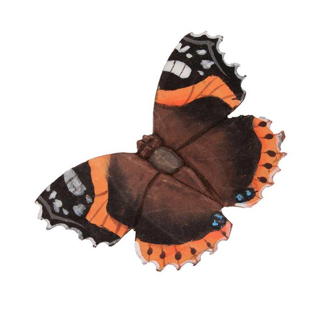 Fjäril Amiral, lindträ - Wildlife Garden