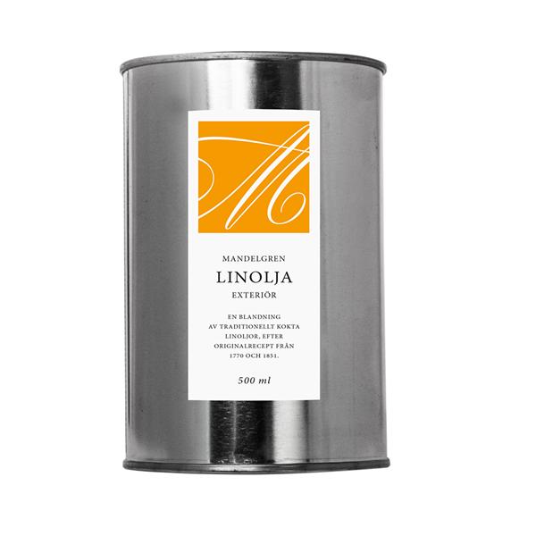 Linolja Exteriör - Mandelgren