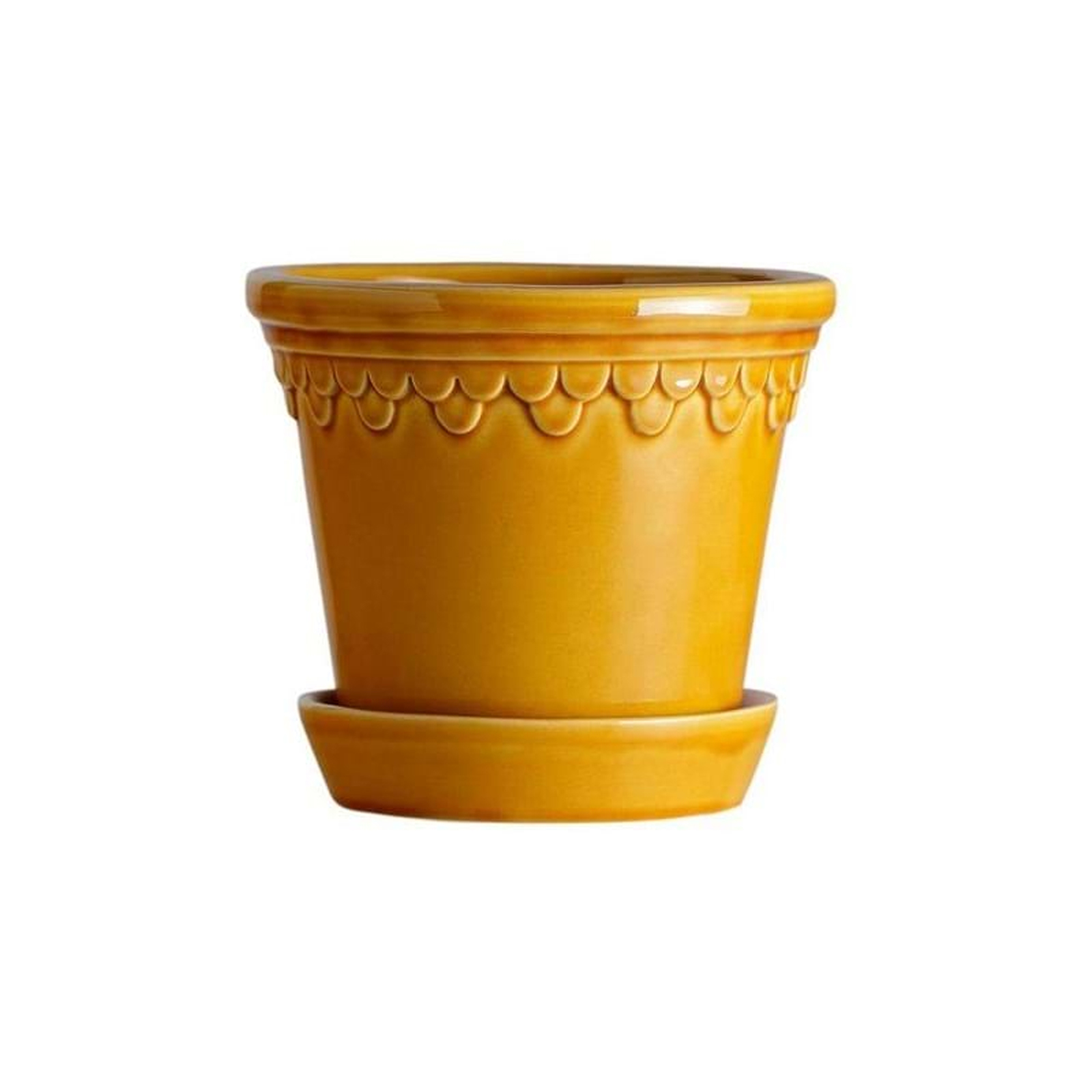 Kruka Köbenhamn, gul - Bergs Potter