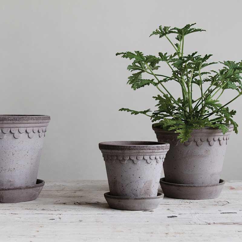 Kruka Köpenhamn grå - Bergs Potter