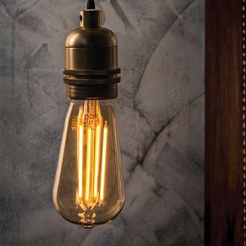 Glödlampa  Antique, edison
