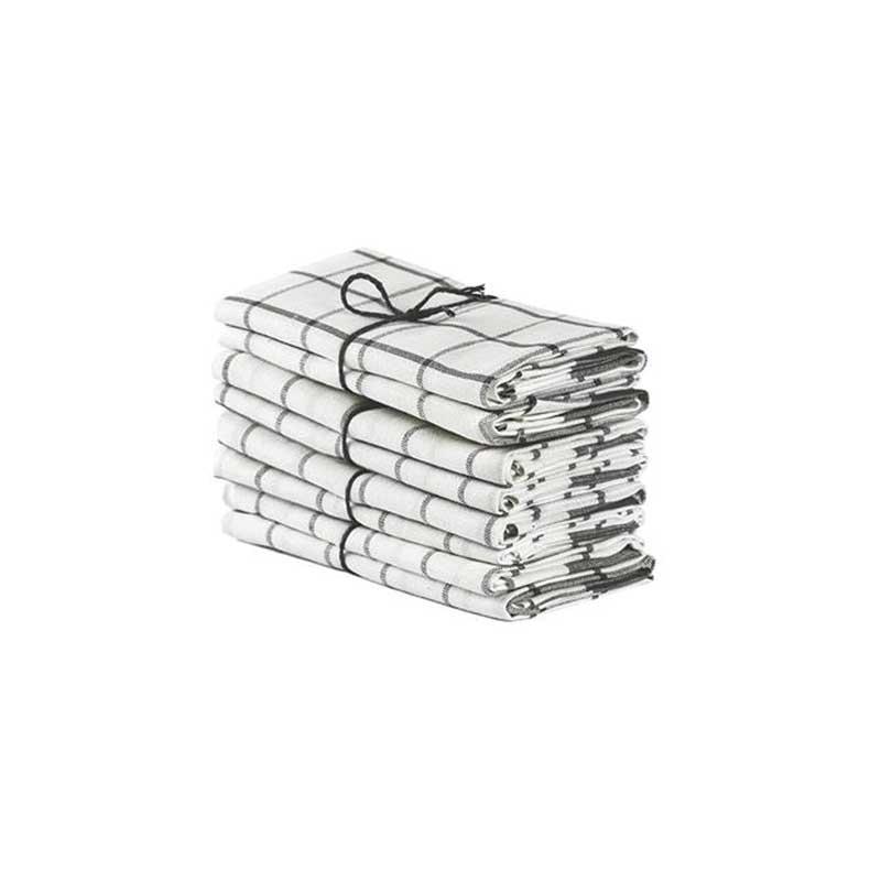 Handduk rutig 2-pack, flera varianter