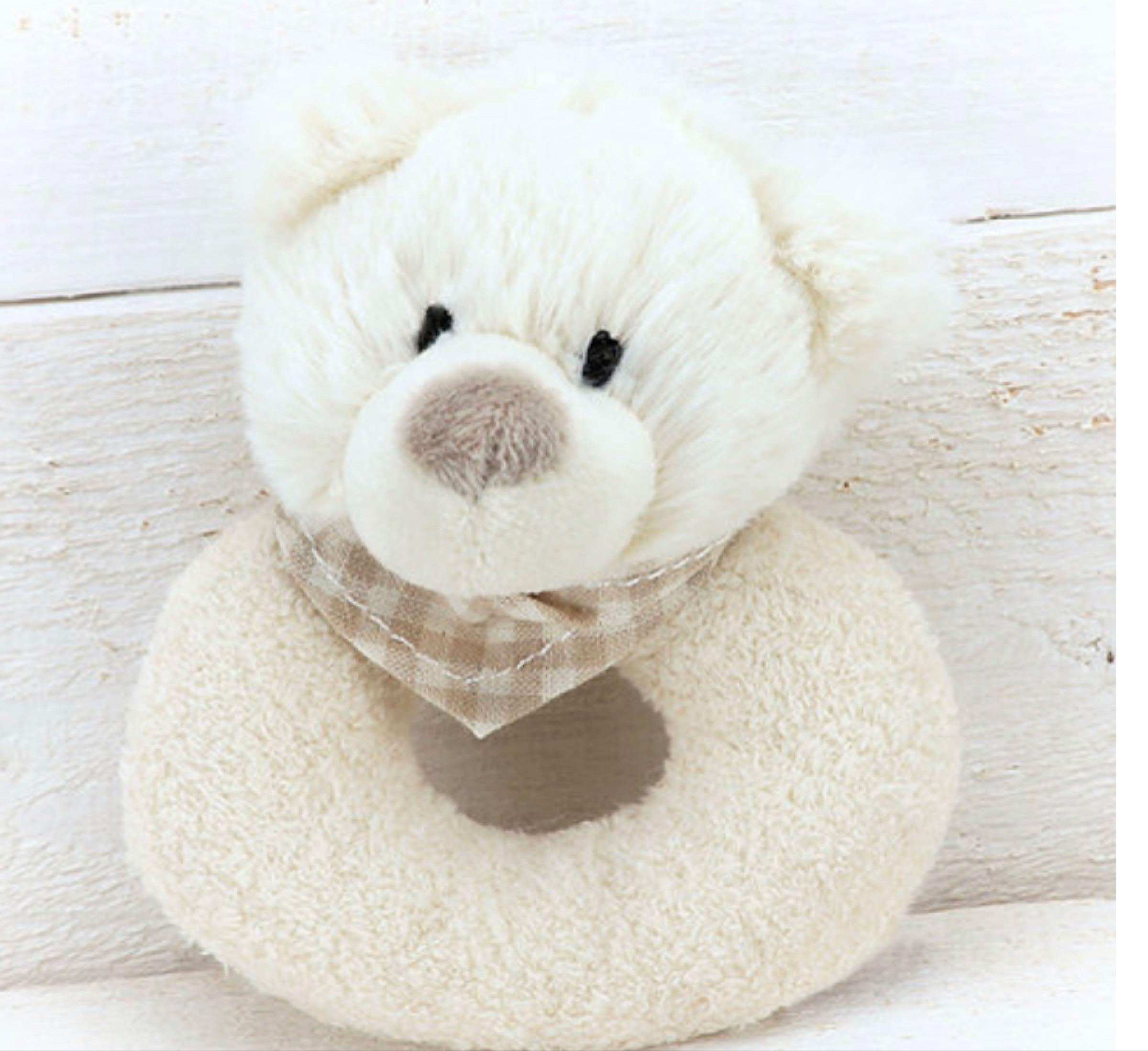 Jomanda Bear Baby Rattle 10cm